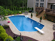 Pool Gallery Inground Swimming Pools Pool Town