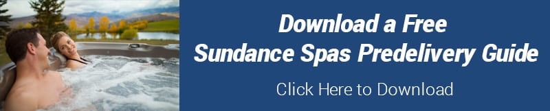 Sundance Spas Predelivery Guide Download
