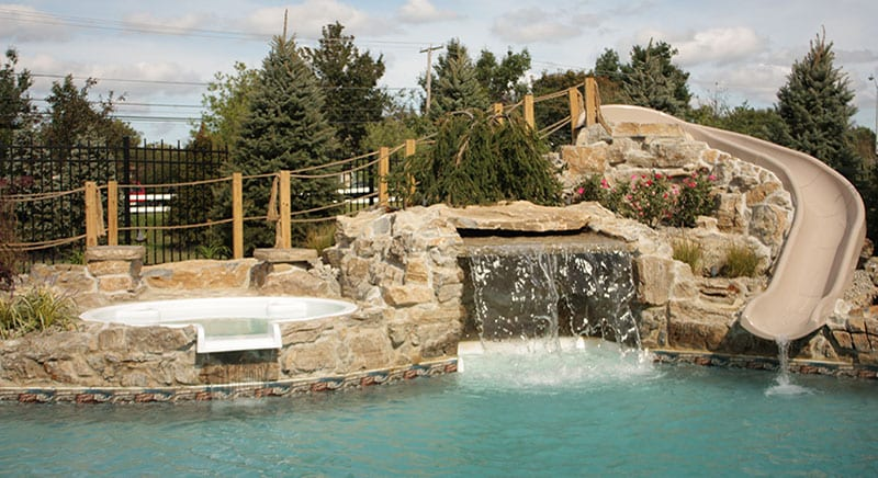 Our Inground Vinyl Liner Swimming Pools Bring Your Backyard To Life